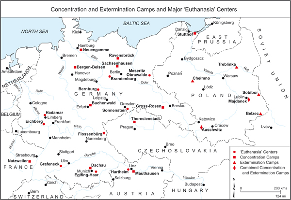Concentration and extermination camps
